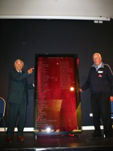 unveiling of bequest plaque